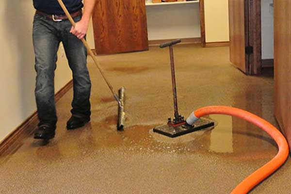 Residential Flood Water Damage Restoration